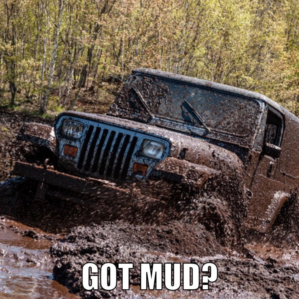 Do you have preference - mudding or rockcrawling?